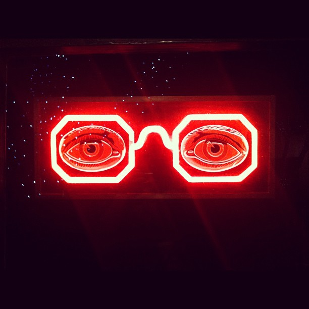 Neon Glowy Glasses