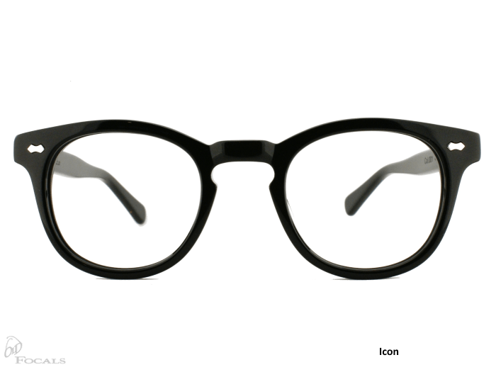 Icon |Black| Old Focals |Design by Russ Campbell (3)