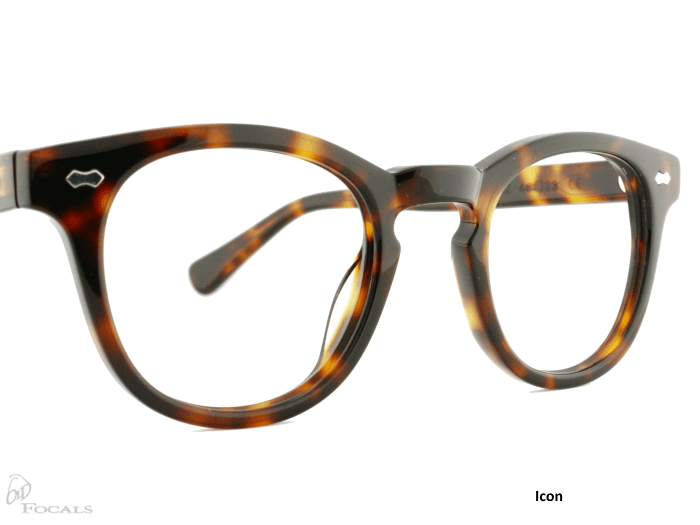 Icon |Tortoiseshell| Old Focals |Design by Russ Campbell (1)