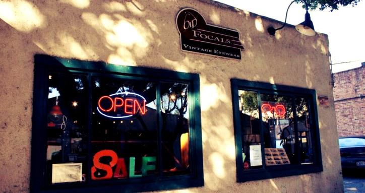 Old Focals Pasadena Store