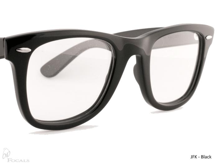 Old Focals Collection | JFK | Black | 01