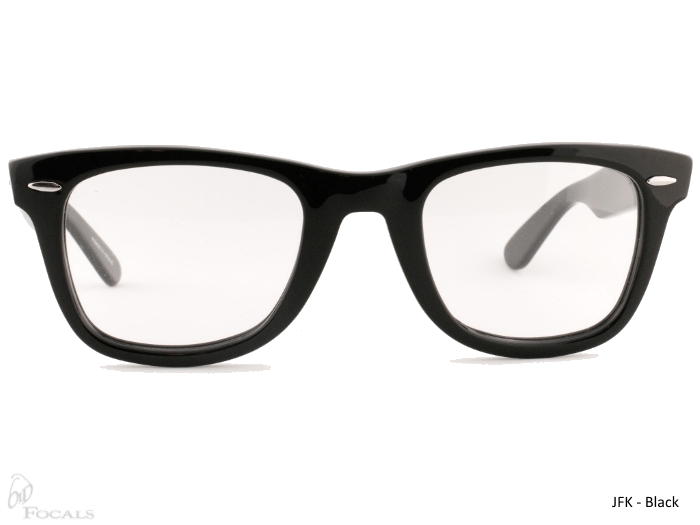 Old Focals Collection | JFK | Black | 02