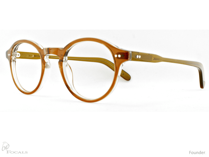 Old Focals Founder Rootbeer side view