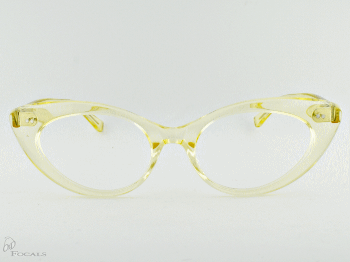 Old Focals Eyewear Design - Kim - Chardonnay 01