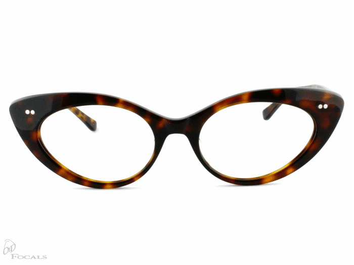 Old Focals Eyewear Design - Kim - Tortoiseshell