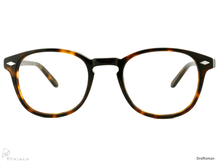 oldfocals eyewear draftsman tortoiseshell front