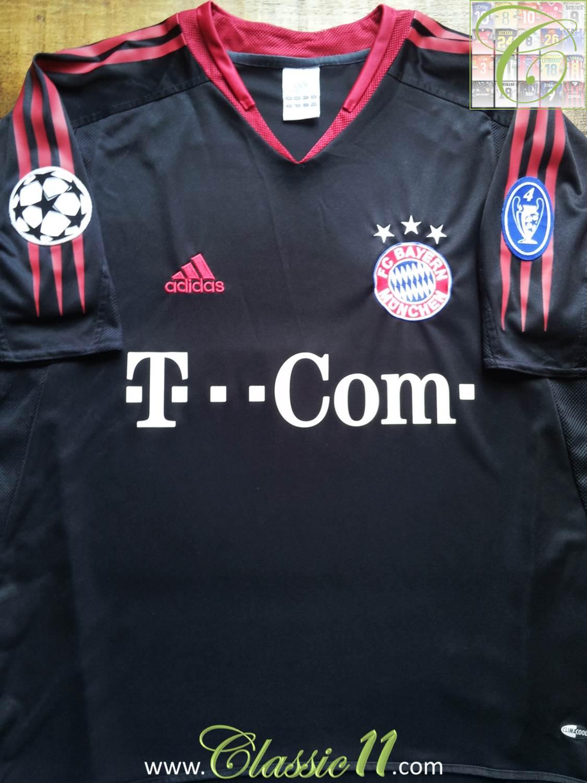 Formasi Bayern Munchen : formasi, bayern, munchen, Bayern, Munich, Forması, Futbol, 2005., Sponsored, Deutsche, Telekom