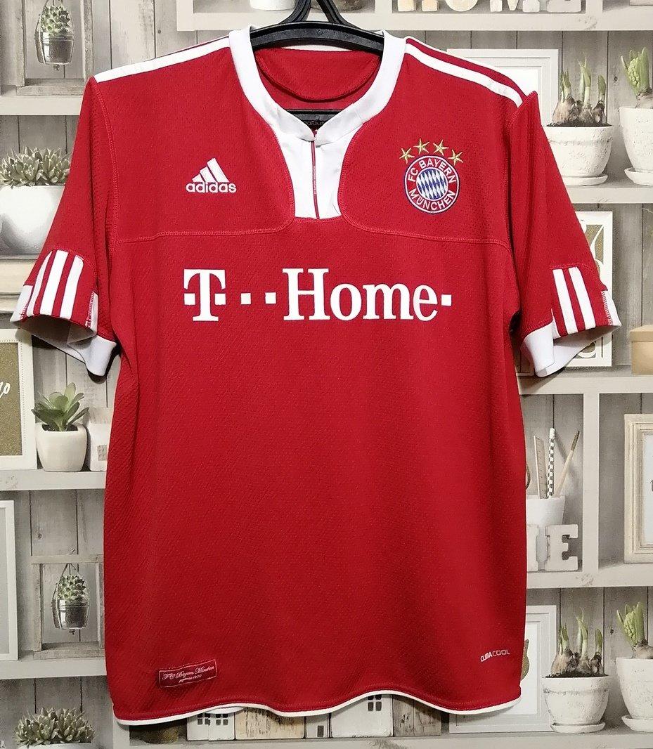 Formasi Bayern Munchen : formasi, bayern, munchen, Bayern, Munich, Futbol, Forması, 2010., Sponsored, Deutsche, Telekom