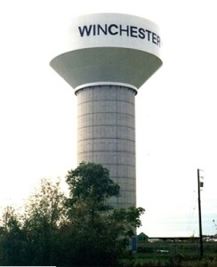 Winchester water tower - Winchester - Oldford Team