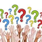 Q & A hands