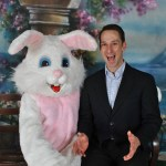 Easter Bunny and Clayton 2016