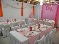 Wedding Shower Basement Makeover | Fynes Designs