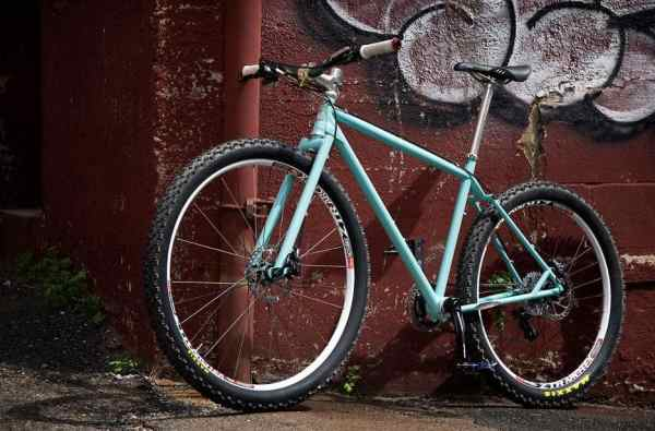 Budd Bike Works rigid 69er mountain bike