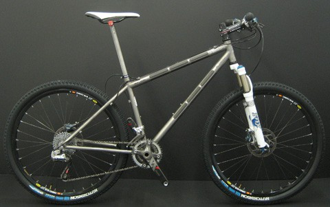 Dean titanium mountain bike