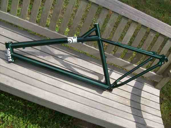Stout Bikes all mountain frame