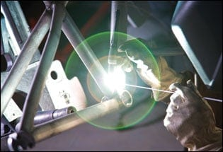bike frame welding