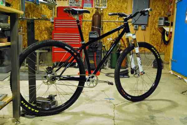 44 Bikes Single Speed 29er mountain bike
