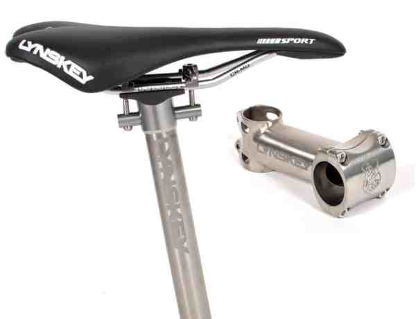 Lynskey Titanium stem and seatpost