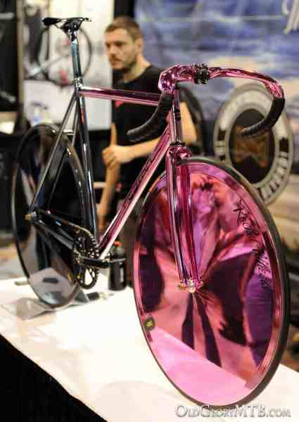 sick chrome track bike