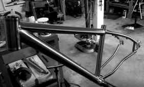 Cysco Cycles titanium 650B mountain bike frame