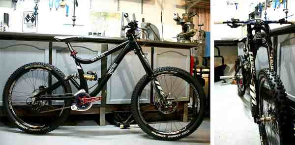 Guerrilla Gravity GG/DH downhill mountain bike