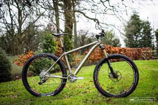 2014 Thomson Elite 275 titanium mountain bike