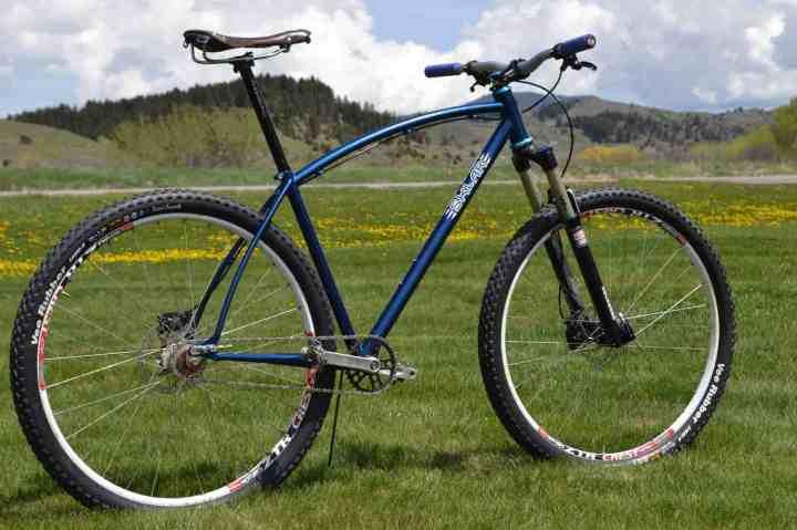 Sklar hardtail mountain bike