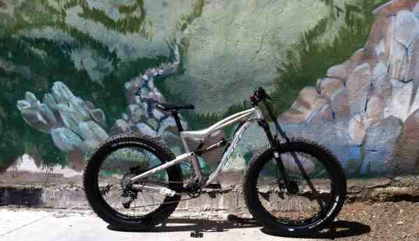 Foes full suspension fat bike