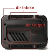 base air flow
