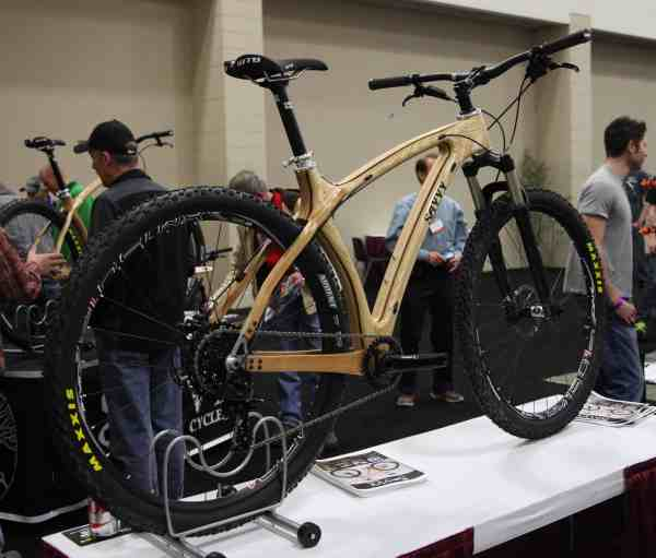 2015 Savvy Cycles wood 29er