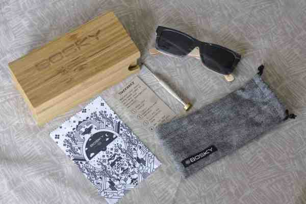 Bosky Phantasmo sunglasses contents