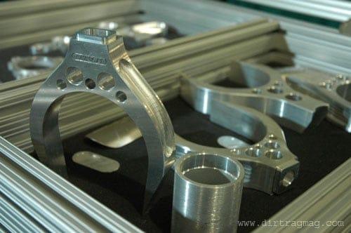 Ahrens aluminum frame components