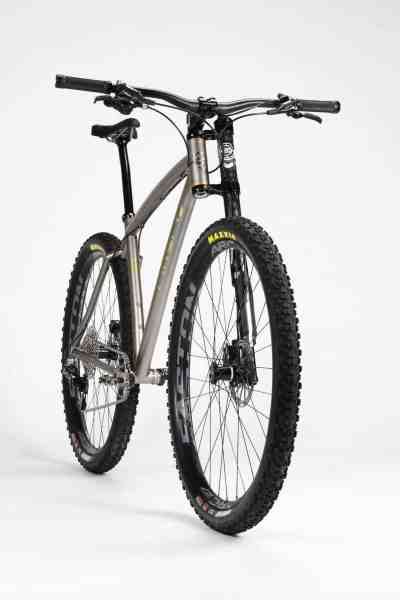 Firefly ti lefty hardtail