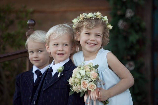 flower girl ring bearers