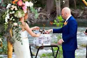Outdoor Water Wedding