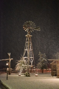 windmill-snow-old glory ranch