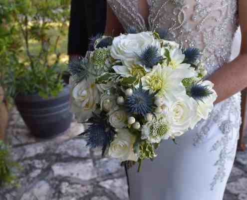 Bridal bouquet at Old Glory Ranch
