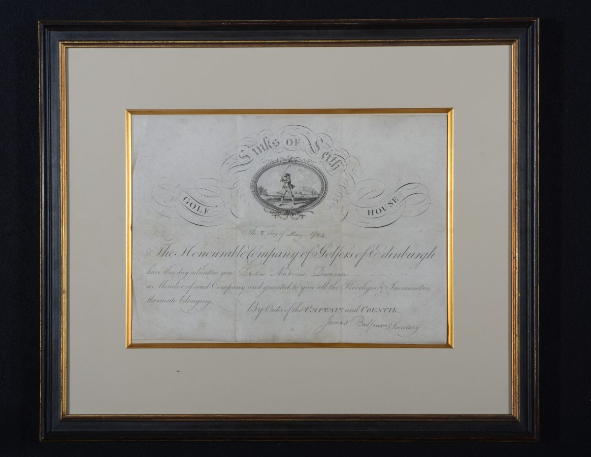 Honorable-Company-Membership-Certificate-1784-for-Andrew-Duncan-Physican-Edinburgh-e1496272927330