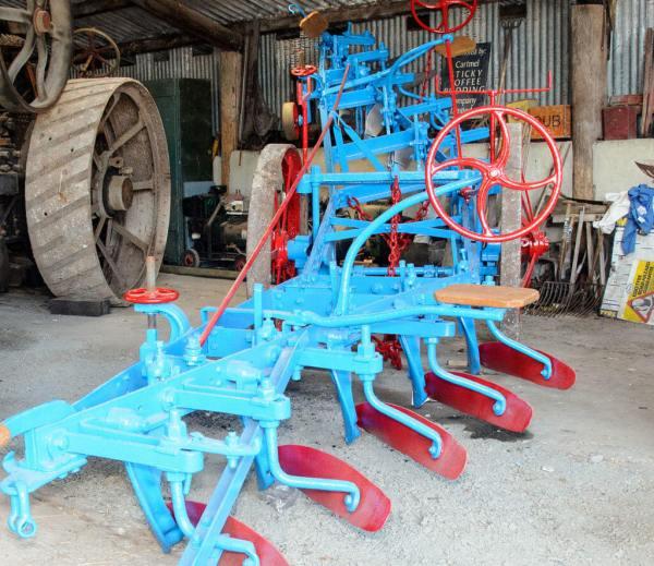 Blue plough