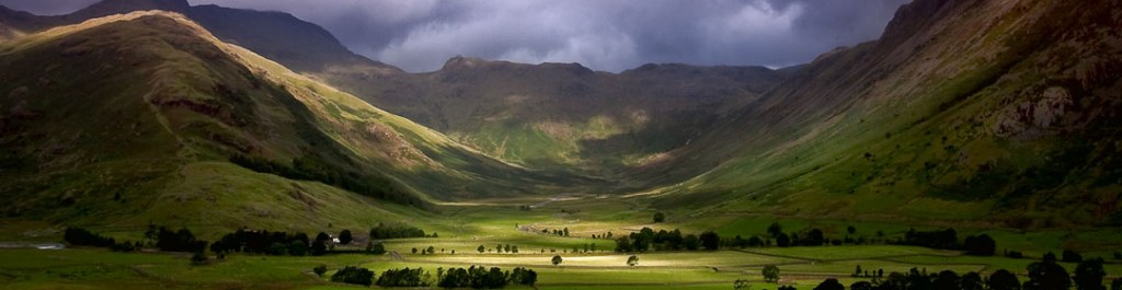 Storm Gathering Over The Langdale Valley