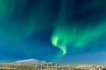 Very Highly Commended_Peter Leitch_Northern Lights display Thingvellir Iceland