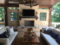 Atlanta Outdoor Fireplaces | Outdoor Kitchens | Old Hat ...
