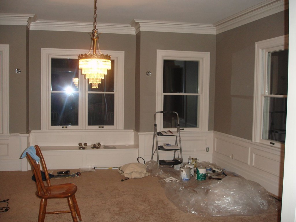 Our Old House  Blog Archive  Painting the Dining Room