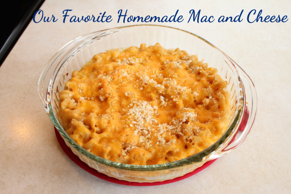 Our Favorite Homemade Macaroni and Cheese