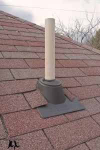 Cutting a Hole in Your Roof  Installing a Vent Pipe  DIY ...