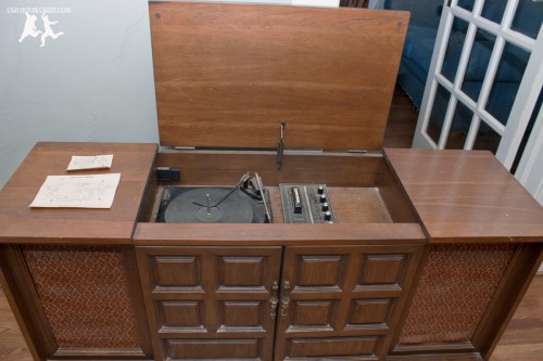 small resolution of old house crazy diy restore an old stereo console 02