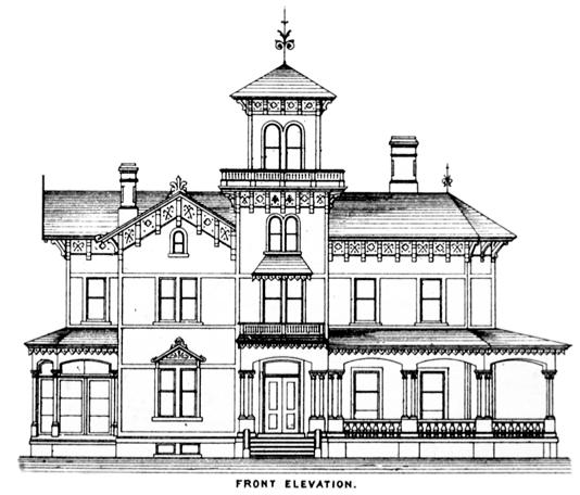 Italianate style house plans