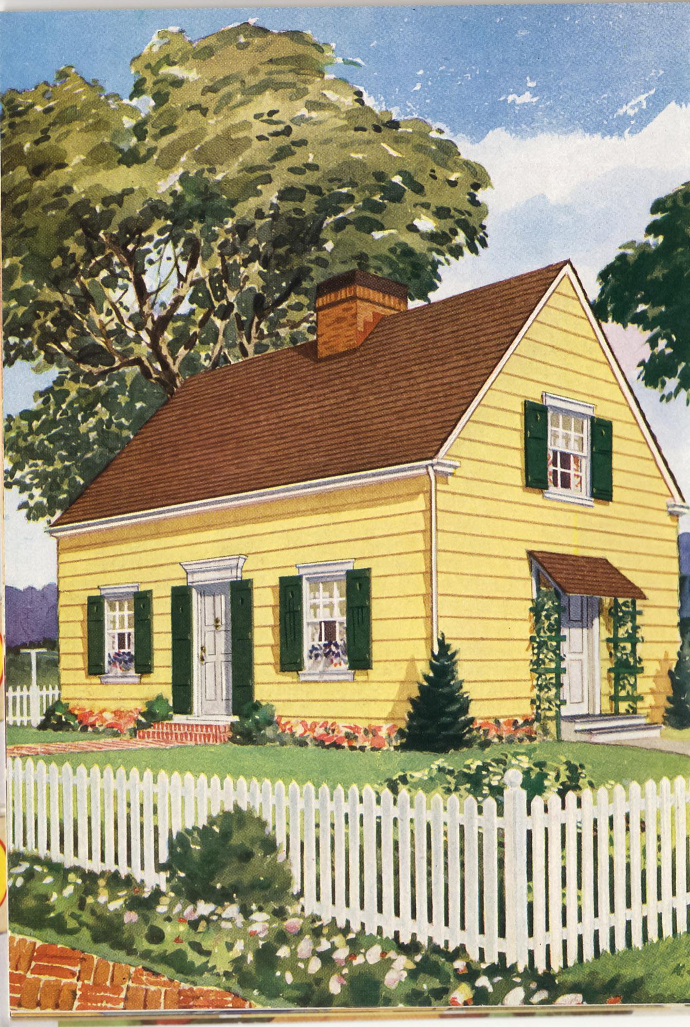 Cape Cod House Colors : house, colors, Exterior, Colors, House, Journal, Magazine
