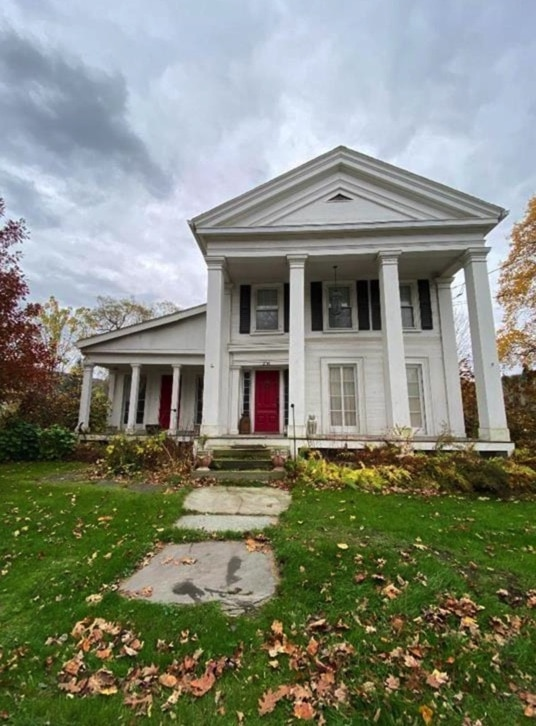 c.1860 Greek Revival For Sale in Deposit NY Under $95K