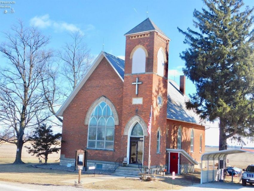 Ohio church for sale on 3 acres under $65K